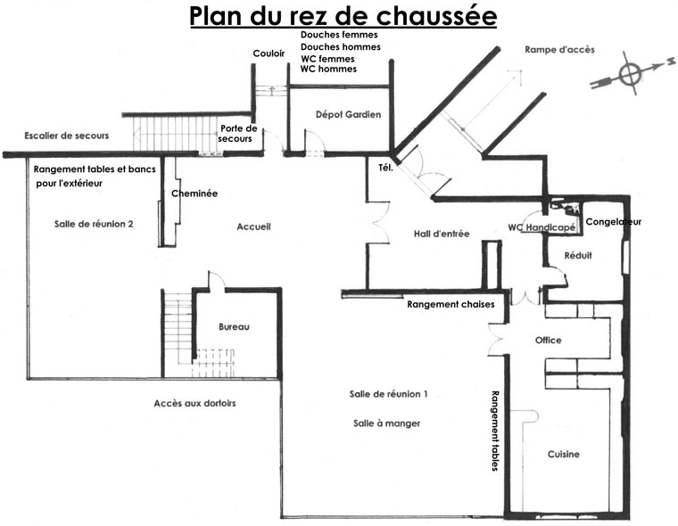 Plan Rez de Chausée