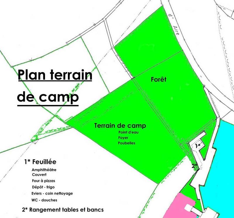 Plan Extérieur avec terrain